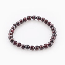 Intention Bracelet Garnet (6mm Beads) by Crafted by Ica