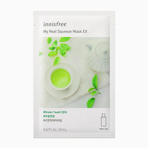 My Real Squeeze Green Tea Mask EX by Innisfree