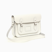 White Classic Satchel by The Cambridge Satchel Company
