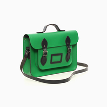 Green & Navy Satchel by The Cambridge Satchel Company