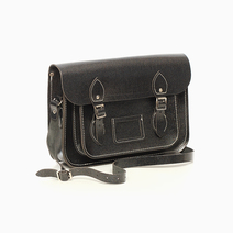 Black Glitter Satchel by The Cambridge Satchel Company