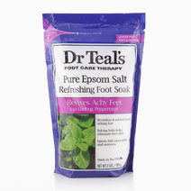 Revitalize & Refresh Pure Epsom Salt Foot Soak with Cooling Peppermint (2lbs.) by Dr. Teal's