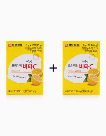 Premium Vita C Lemon (1 Pack x 30ea) (Buy 1, Take 1) by Il-yang Pharm