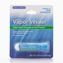 Quick Action Vapor Inhaler (500mg) by New Choice
