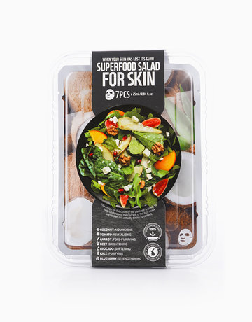 Superfood Coconut Salad Mask Package by Farmskin