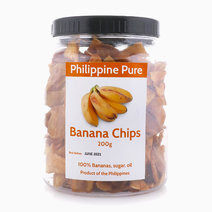 Banana Chips (200g Jar) by Philippine Pure