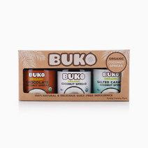 Buko Organic Coconut Spreads Variety Pack (3 x 40g) by Buko Foods