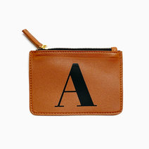 Leather Monogram Coin Purse by Invitation House
