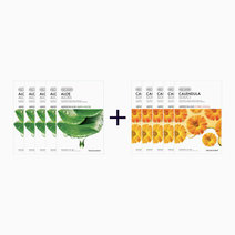 Sheet Mask Bundle - Aloe & Calendula (Buy 5, Take 5) by The Face Shop