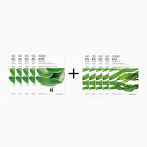 Sheet Mask Bundle - Aloe & Kelp (Buy 5, Take 5) by The Face Shop