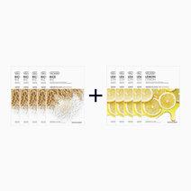 Sheet Mask Bundle - Rice & Lemon (Buy 5, Take 5) by The Face Shop