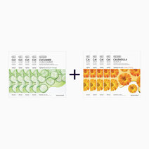 Sheet Mask Bundle - Cucumber & Calendula (Buy 5, Take 5) by The Face Shop