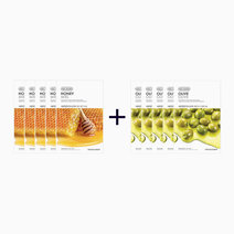 Sheet Mask Bundle - Honey & Olive (Buy 5, Take 5) by The Face Shop