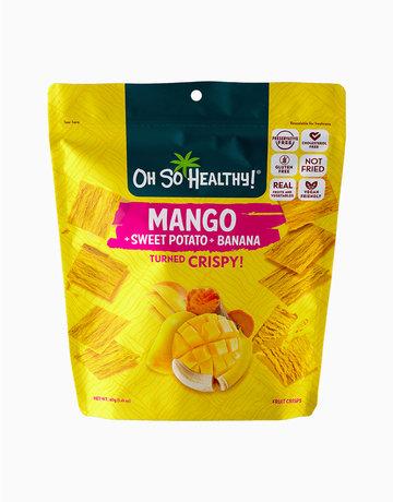 Mango Banana Fruit Crisps by Oh So Healthy