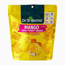 Mango Sweet Potato Banana Fruit Crisps by Oh So Healthy