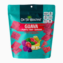Guava Purple Yam Banana Fruit Crisps by Oh So Healthy