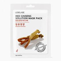 Lebelage red ginseng mask sheet