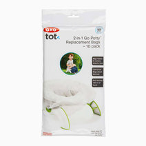 2-in-1 Go Potty Replacement Bags (10s) by Oxotot