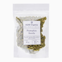 Pumpkin Seeds (80g) by ASAB Organics