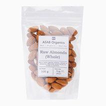 Raw Almonds (Whole) (100g) by ASAB Organics