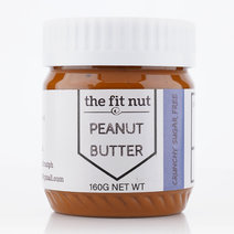 Regular Sugar Free Crunchy Peanut Butter (160g) by The Fit Nut PH