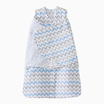 SleepSack Swaddle in Chevron Blue by Halo