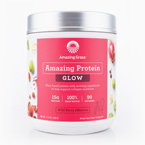 GLOW Vegan Protein Powder (330g) by Amazing Grass
