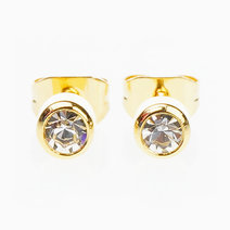 Glam Rhine Earrings (3mm) by Znapshop