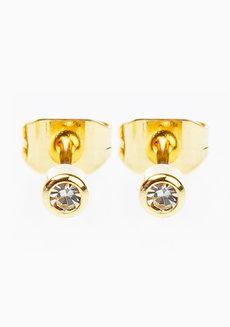 Glam Rhine Earrings (2mm) by Znapshop