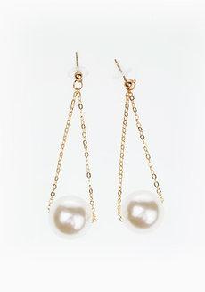 Wilson Pearl Earrings by Dusty Cloud