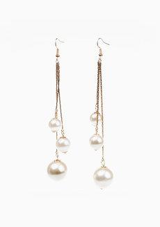 Jett Pearl Earrings by Dusty Cloud