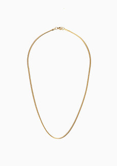 Ronnie 17-inch Snake Chain by Dusty Cloud