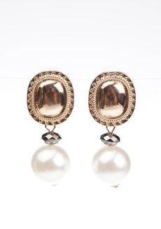 Nancy Pearl Earrings by Dusty Cloud