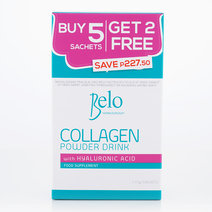 Belo Nutraceuticals Collagen Powder Drink (Buy 5 Sachets, Get 2 FREE) by Belo