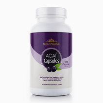 Organique Açaí Freeze-Dried Capsules (120s) by Organique Açaí