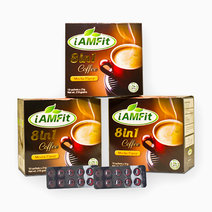 iAMFit 8in1 Coffee Bundle + FREE Two (2) iAMFit Dash Blisters & Flier by iAMFit