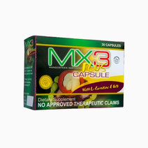 MX3 Plus Capsule with L-Carnitine and CoQ10 (30 capsules) by MX3