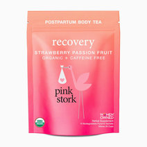 Recovery Tea: Postpartum Body Tea, Strawberry Passion Fruit (30 cups) by Pink Stork