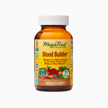 MegaFood Blood Builder with Beets, Orange & Broccoli Iron & Multivitamin 90 Tablets by MegaFood