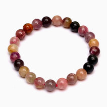 Multi-colored Tourmaline Bracelet by Crystal Beauty