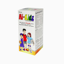 Hi-Kidz Food Supplement Syrup with CGF, Taurine, Zinc, Vitamin A, Vitamin d3, B Vitamins, and Lysine (120ml) by Bewell