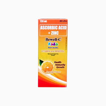 Bewell-C Kids Non Acidic Vitamin C with Zinc Syrup (120 ml) by Bewell