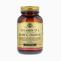 Vitamin D3 Cholecalciferol 250mcg (120s) by Solgar
