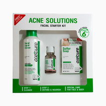 Acne Solutions Facial Starter Kit by Oxecure