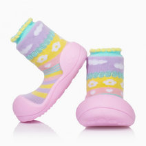 Attibebe Design (Pink) by Attipas Baby Shoe Socks