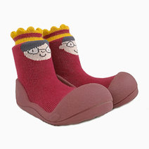 King and Queen Design (Red) by Attipas Baby Shoe Socks