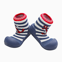 Marine Design (Red) by Attipas Baby Shoe Socks