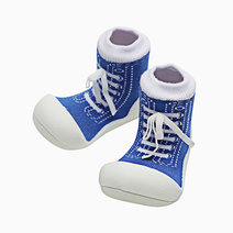 Sneaker Design (Blue) by Attipas Baby Shoe Socks