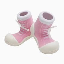Sneaker Design (Pink) by Attipas Baby Shoe Socks