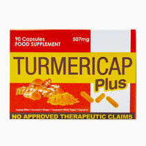 Turmericap Plus (507mg, 90 Capsules) by Go Natural Food Supplements